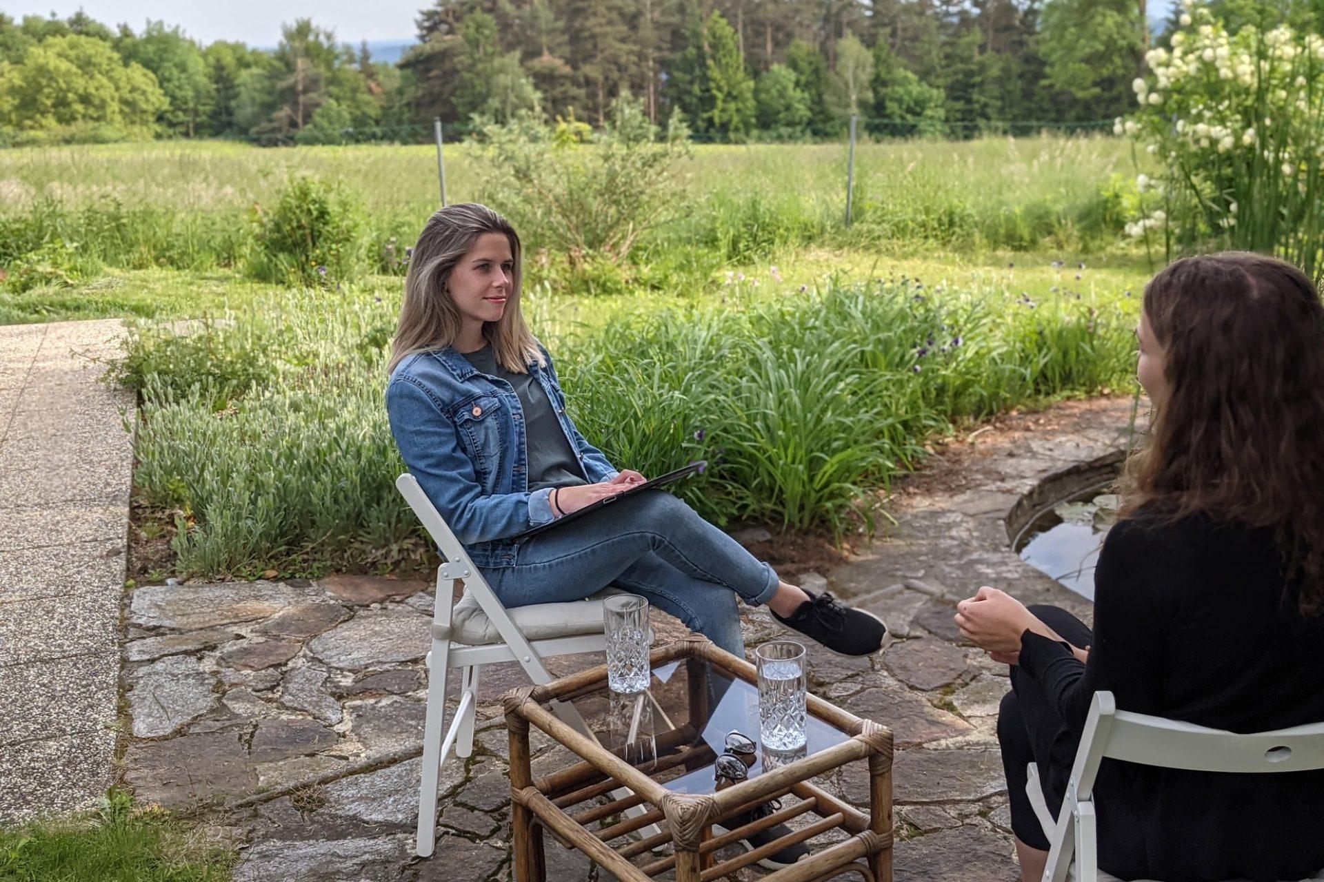 Beratung in der Natur mit Jasmin Kumpitsch